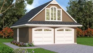 100 Garage Plans and Detached Garage Plans with Loft or