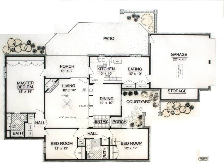 Hampton House 1505 9036 3 Bedrooms And 2 5 Baths The