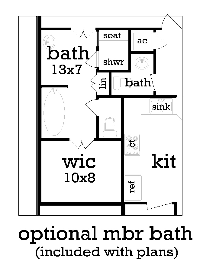 optional mbr bath