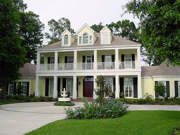 Magnolia place 5400 3612 4 bedrooms and 4 baths the Southern colonial style house plans