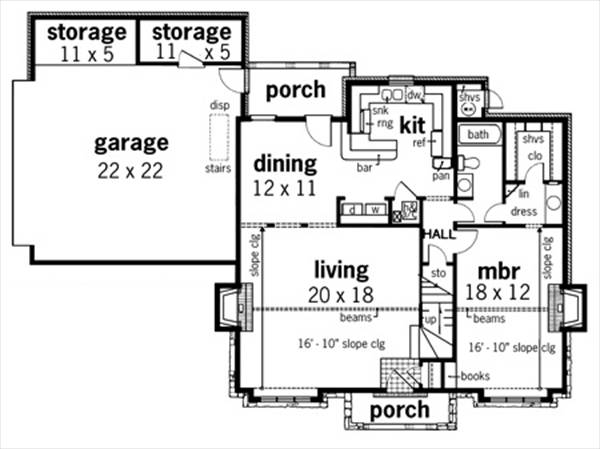 Aspen park 1613 7337 3 bedrooms and 2 5 baths the for Aspen house plans