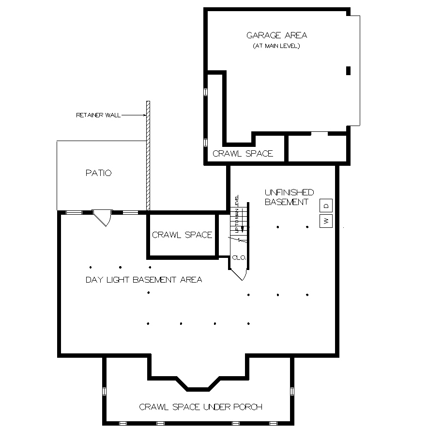 Basement Foundation Design holly spring-2108 4408 - 3 bedrooms and 3 baths | the house designers