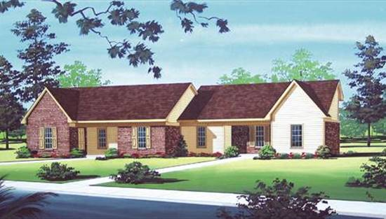 image of Danbury - 800 House Plan