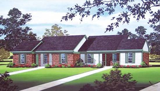 image of Danburg - 808 House Plan