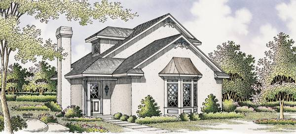 House Plan 3547: Florida Classic