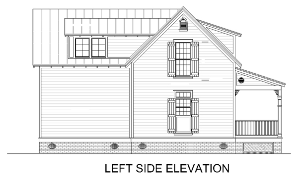 House Elevation Drawing Front Side : Hickory creek  bedrooms and baths the
