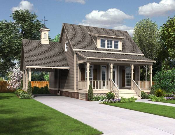 The Jefferson - 1625 3066 - 3 Bedrooms and 2.5 Baths | The House Designers
