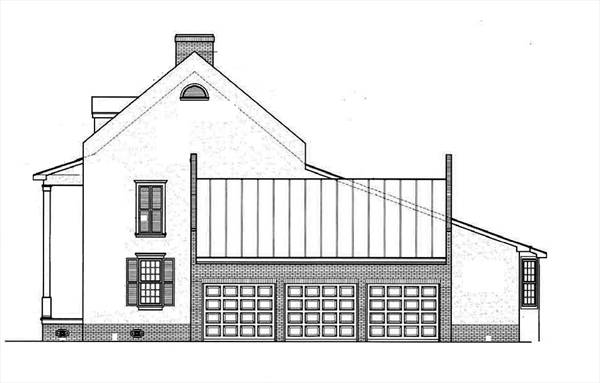 Right Side Elevation Plan : Natchez glen bedrooms and baths the