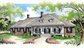 image of Springhill Plantation-4001 House Plan