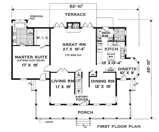 Perfect Home 5807 - 5 Bedrooms and 2 Baths  The House Designers