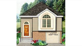 image of Narrow lot Country Home House Plan