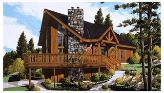 image of Great Chalet House Plan