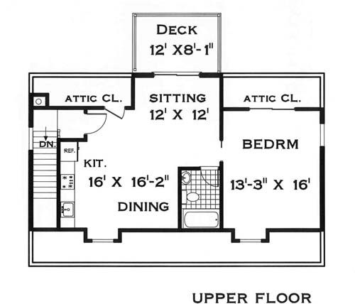 Garage with rental apartment 8365 1 Bedroom and 15 Baths – One Bedroom House Plans With Garage