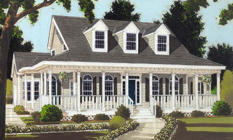 Perfect Home Plan For A Narrow Lot 6989am: Perfect Home 8366 - 3 Bedrooms And 3.5 Baths