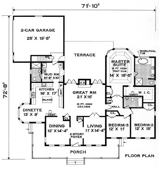 Floor plan image of Perfect Home House Plan