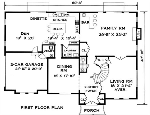 spanish colonial floor plans colonial 8303 4 bedrooms and 3 baths the house 22104