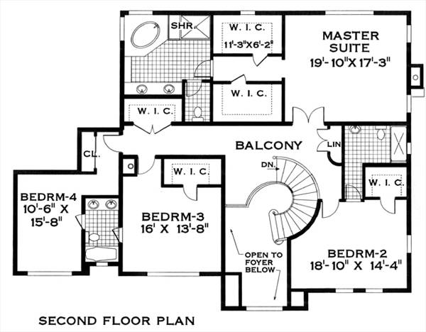 spanish style homes floor plans floor plans