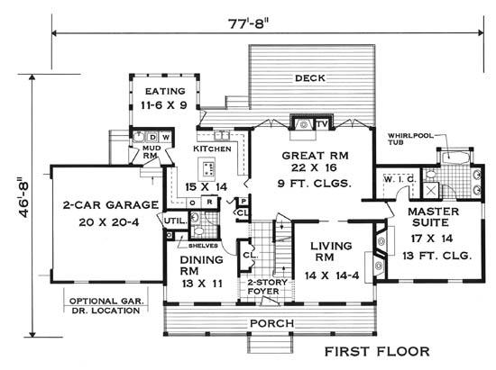 Innovative Floor Plan 5624 5 Bedrooms and 3 Baths The House