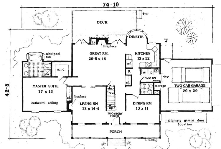 5 Bed House Plans : 5 Bedroom House Designs : 5 Bedroom House Plans