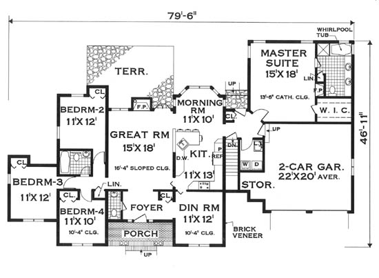Ranch House Plans - House Plans Advisor