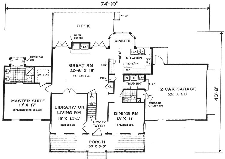 Country home living house plans