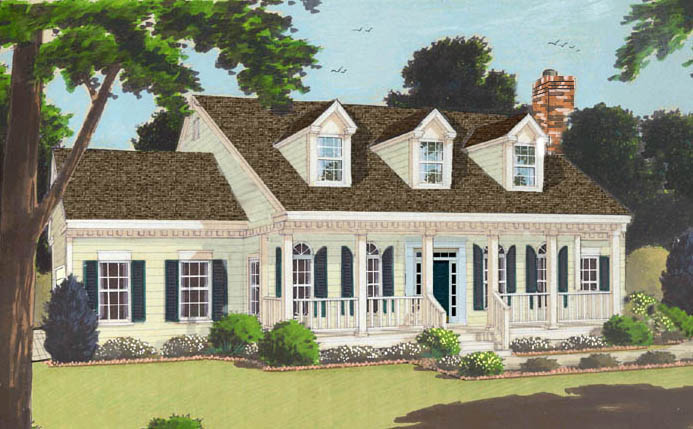 Southern Colonial 6990 3 Bedrooms And 2 Baths The