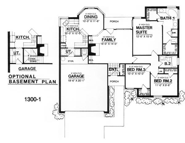 The heritage 7941 3 bedrooms and 2 5 baths the house Home layout planner