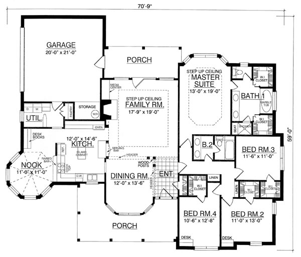 the brentwood 8203 4 bedrooms and 2 5 baths the house