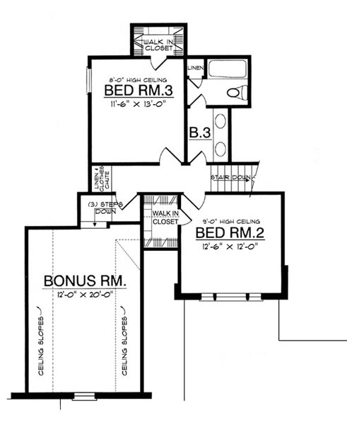 The elegant windows 7963 3 bedrooms and 2 baths the for Floor plan creator windows
