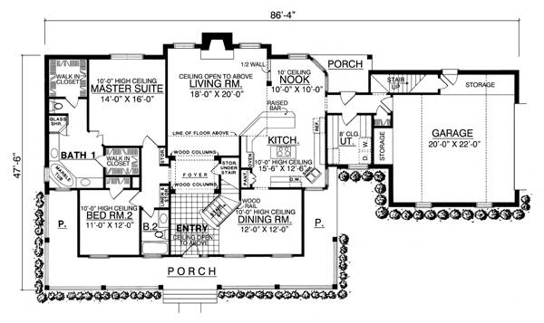 The Charleston 7968 4 Bedrooms And 3 5 Baths The House