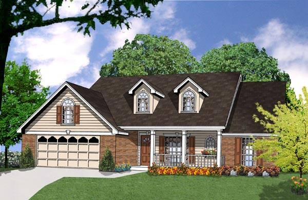 The bungalow 7950 3 bedrooms and 2 5 baths the house for Eplans com reviews