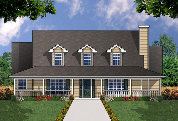 The western 7961 4 bedrooms and 3 5 baths the house for Western house plans with photos