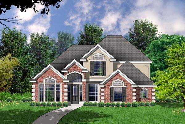 The croston 7967 4 bedrooms and 2 baths the house for Copying house plans