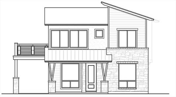 North N Home Plan And Elevation : The kristin bedrooms and baths house