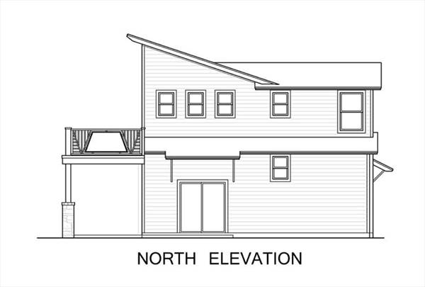 North N Home Plan And Elevation : Green contemporary style house plan the greenview