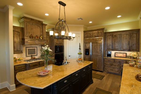 This house plan features plenty of recessed lighting to control ambience and save energy.