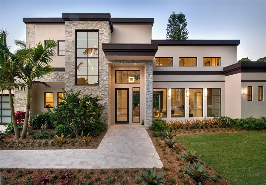 Modern Contemporary Florida Home Design
