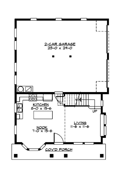 Red Alder 3206 2 Bedrooms And 2 5 Baths The House Designers
