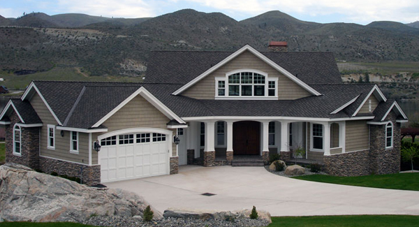 Winthrop 3218 4 bedrooms and 4 5 baths the house designers for House plans with rear side entry garage