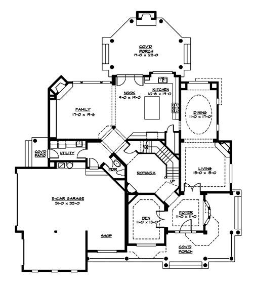 Luxurious victorian home for Victorian home plans