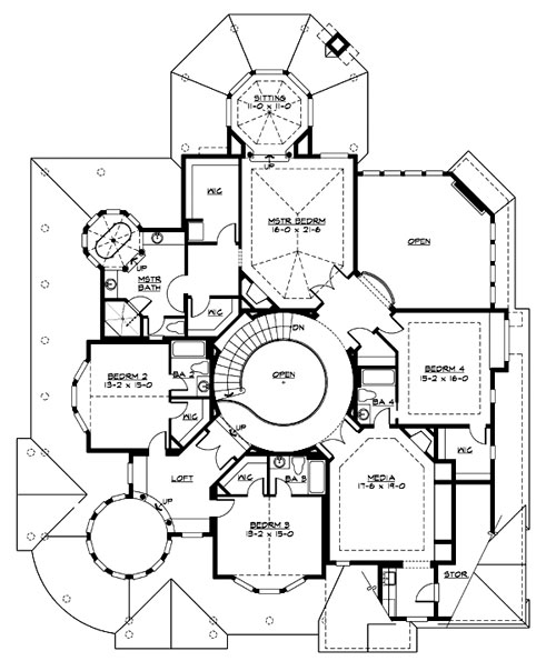 Amazing Home Plans amazing luxury home plans - home plan