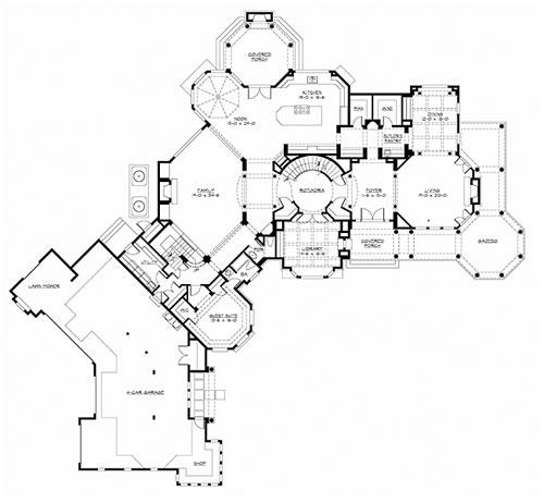 16 Elegant Front Elevation House Plans