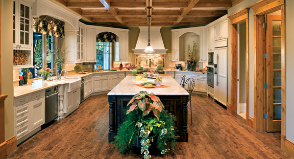 Top 3 kitchen trends for 2013 the house designers for Luxury kitchen designs 2012