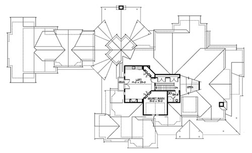 Third Floor image of Paradise Lodge House Plan