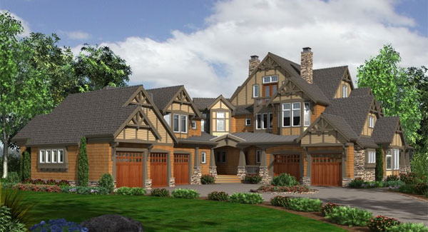 Dream Designs   Luxury Craftsman House PlansFast  amp  Free Shipping