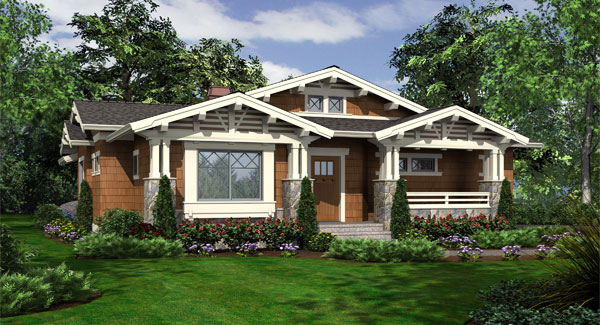Fieldstone 3238 2 bedrooms and 2 5 baths the house - What is a bungalow style house ...