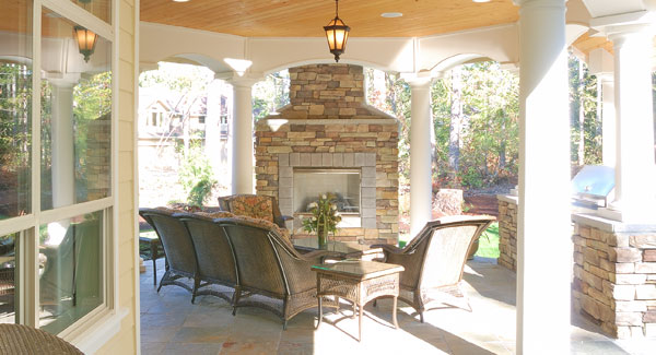 House Plans Outdoor Living Spaces Popular Feature In New