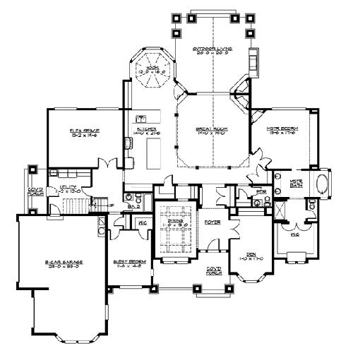 R3935A3S-0-MAIN Octagonal House Building Plans on haunted house floor plans, country house plans, town hall building plans, lookout tower octagon building plans, circular house plans, hobbit house plans,