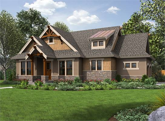 House Plan 3408: 2 Bedroom 2 Bath House Plans