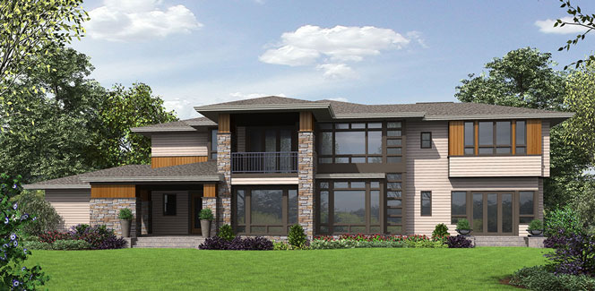 prairietown 9739 4 bedrooms and 4 baths the house designers
